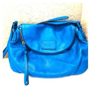Marc by Marc Jacobs Blue Classic Q Cross Body Bag